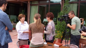 04 IntervistaTV bulgara a A.Caccia