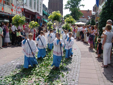 The Blessed Sacrament Procession in Boxmeer