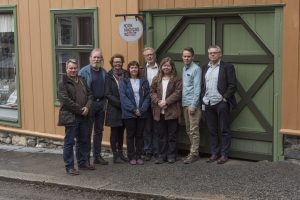 the staff of Norwegian Crafts Instute