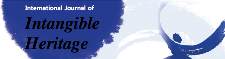 The International Journal of Intangible Heritage: call for papers