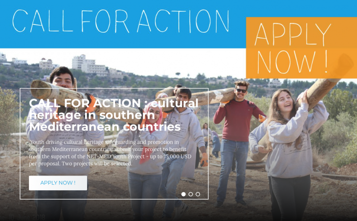 Call for Action aimed at supporting youth-led interventions for the protection and promotion of cultural heritage