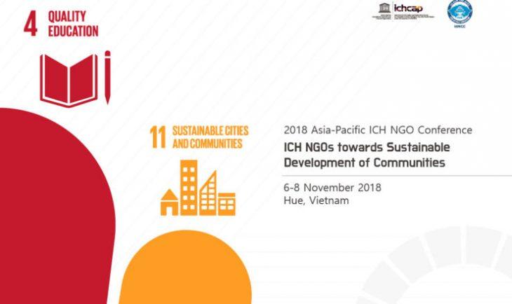 ICH NGOs towards Sustainable Development of Communities