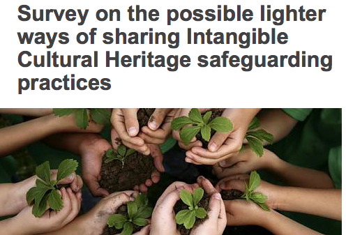 UNESCO: a worldwide survey to collect information from key actors working on ICH