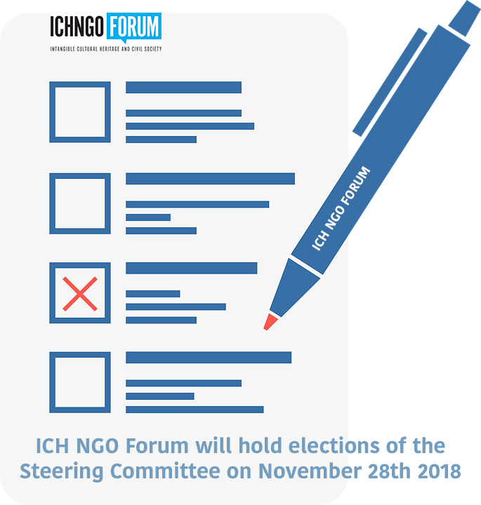 Elections of the ICH NGO Forum: the list of the candidates