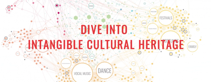 Dive into intangible cultural heritage: the UNESCO's interactive space