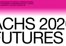 Biennial Conference of the Association of Critical Heritage Studies (ACHS): call for participation