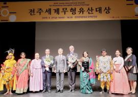 Jeonju International Awards for Promoting ICH: the winners