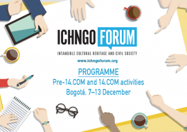 The final programme of the pre-14.COM and and 14.COM activities