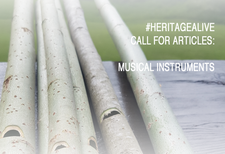 #HeritageAlive: Call for articles – Musical instruments