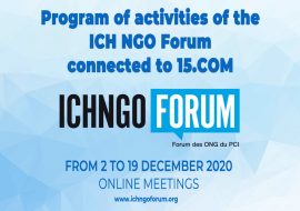 Activities of the Forum connected to 15.COM: from 2 to 19 december 2020