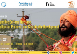 Community Heritage, Intellectual Property Protection and Sustainable Development in India – February 2 and 3