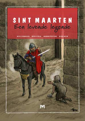 Saint Martin a living legend Telling the story anew with comics