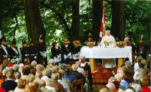 The Sjaasbergergank Open Air Holy Mass Celebration