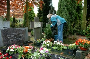 All Souls visiting of the graves