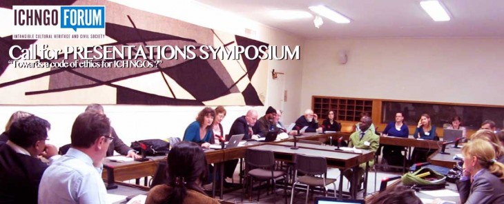 2ND CALL FOR ABSTRACTS ICH NGO SYMPOSIUM