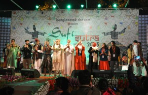 Seven countries co creating music at Sufi Sutra - festival of peace music