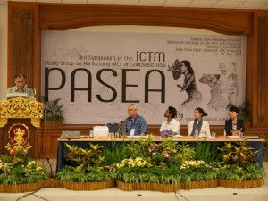 ICTM_3rd Symposium of ICTM STG on Performing Arts of Southeast Asia 2014