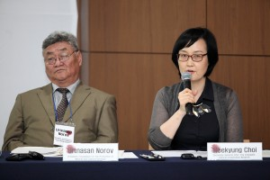Heekyung Choi, Secretary general, ICCN