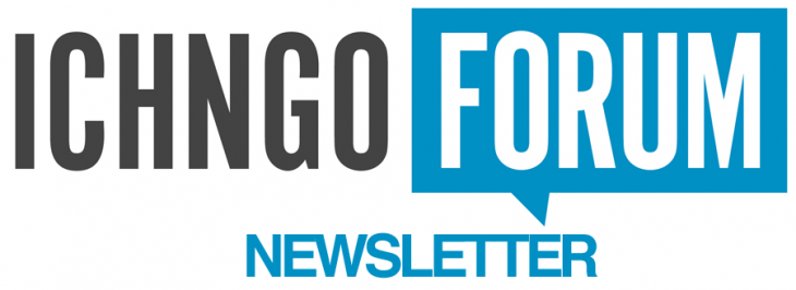 ICH NGO FORUM – Newsletter October 2017