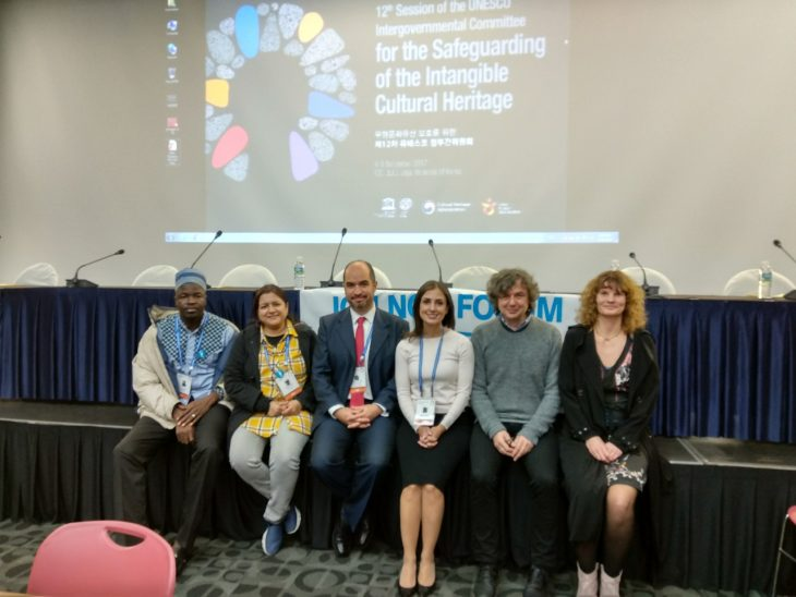 The new Steering Committee of the Ich Ngo Forum