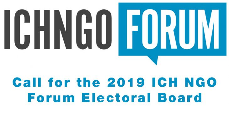 Call for the 2019 ICH NGO Forum Electoral Board