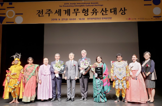Jeonju International Awards for Promoting ICH: the winners