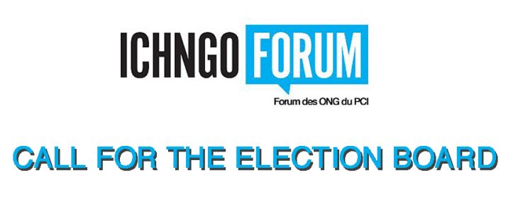 Call for the 2021 ICH NGO Forum Election Board