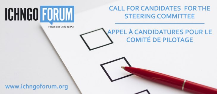 Second Call for Candidates for the Steering Committee