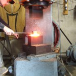 The experienced blacksmith Terje Granås is a good example of a craftsman performing on a higher level