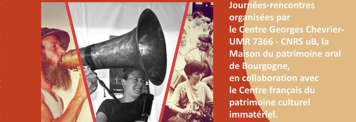 Patrimoines, Participation, Citoyenneté: a symposium seminar in Anost, France